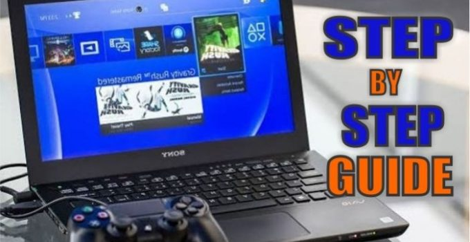 How To Play PS4 On Laptop With HDMI | Step By Step Guide