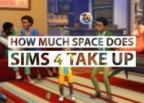 How Much Space Does Sims 4 Take Up | LaptopMill