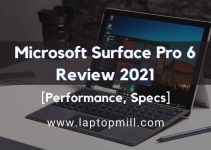 Microsoft Surface Pro 6 Drawing Laptop Review 2021