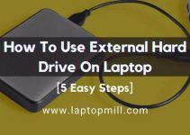 How To Use External Hard Drive On Laptop | 5 Easy Steps